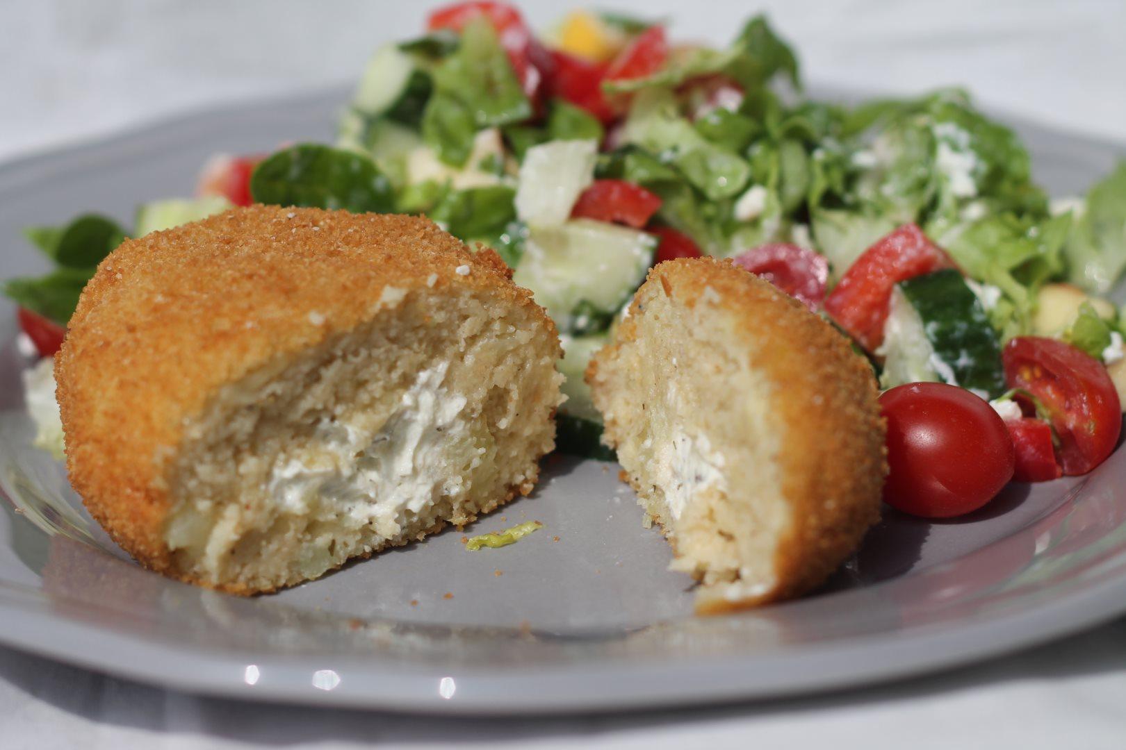 Kartoffel-Frischkäse-Ecken